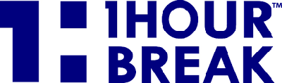 1 Hour Break Logo