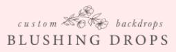 Blushing Drops Logo