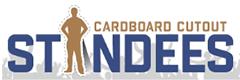 Cardboard Cutout Standees Logo
