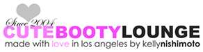 Cute Booty Lounge Logo