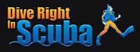 Dive Right In Scuba Logo