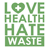Love Health Hate Waste Logo
