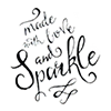 Made with Love and Sparkle Logo