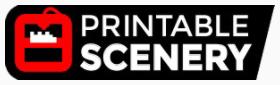 Printable Scenery Logo