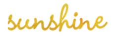 Sunshine Photo Cart Logo