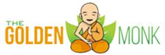 The Golden Monk Logo