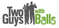 Two Guys with Balls Logo