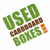 Used Cardboard Boxes Logo