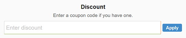 How to use Caldera Forms coupon code