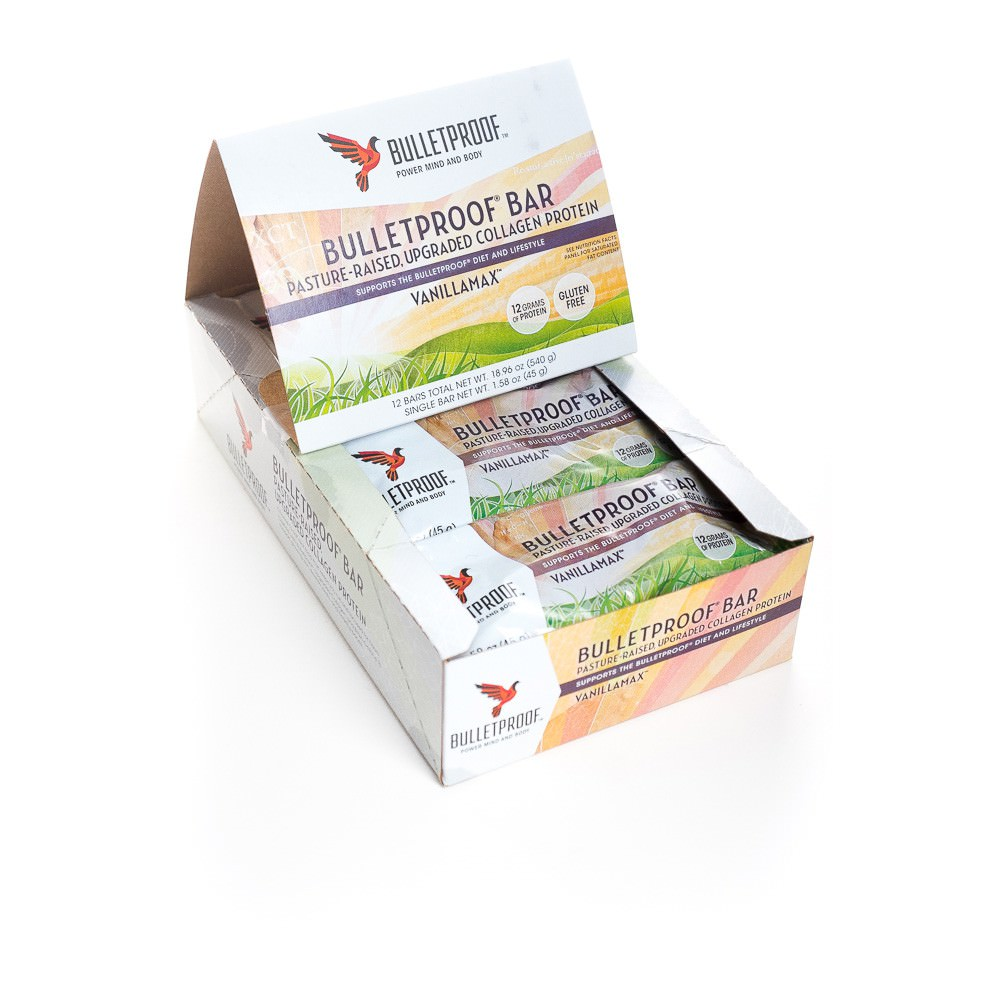 Bulletproof Vanilla Max Collagen Bars