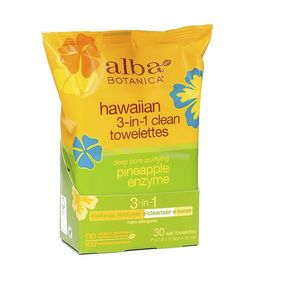 Alba Botanica Hawaiian 3-in-1 Clean Towelette