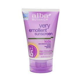 Alba Botanica SPF 45 Very Emollient Kids Sunscreen