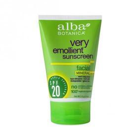 Alba Botanica Very Emollient Facial Sunscreen - SPF 20