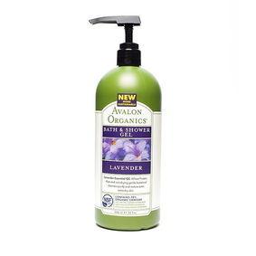 Avalon Organics Lavender Bath and Shower Gel
