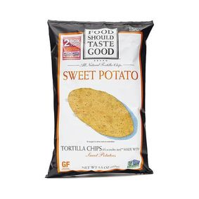 Food Should Taste Good Sweet Potato Tortilla Chips