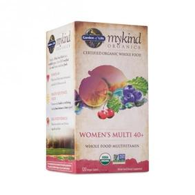 Garden of Life mykind Organics Women's Multi 40+ Vitamin