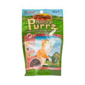 Save on Zuke's Natural Purrz Cat Treats Salmon